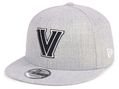 detailed look 417e1 617d2 good villanova wildcats new era ncaa heather gray 9fifty snapback cap f39eb  dc978