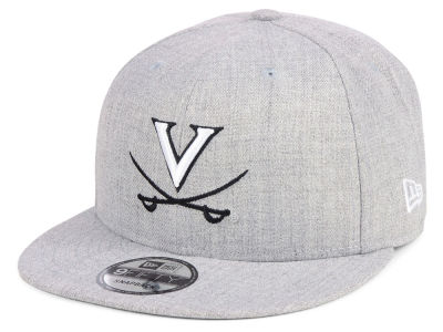 Virginia Cavaliers New Era NCAA Heather Gray 9FIFTY Snapback Cap
