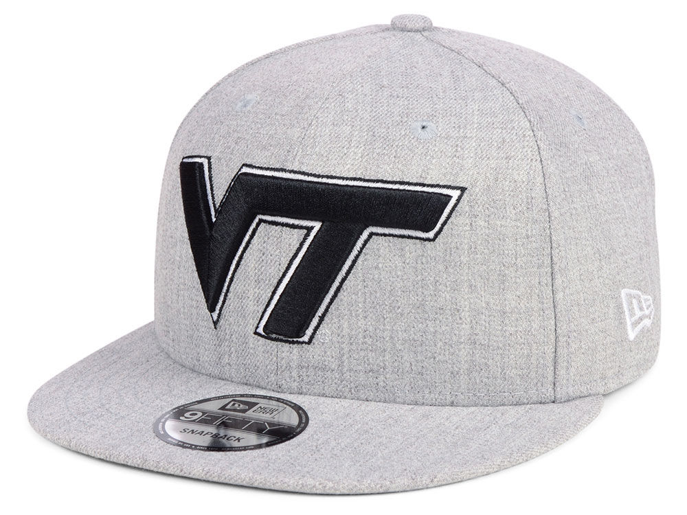 new concept 2f027 df738 ... top quality virginia tech hokies new era ncaa heather gray 9fifty  snapback cap 7a045 c9652