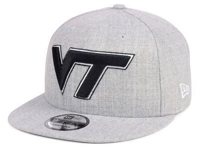 ca53b2ddc6a Virginia Tech Hokies New Era NCAA Heather Gray 9FIFTY Snapback Cap