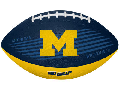 Michigan Wolverines Grip Tek Youth Football