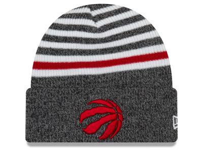 Toronto Raptors New Era NBA Striped Cuff Knit