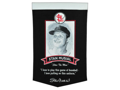 St. Louis Cardinals Stan Musial Winning Streak MLB Icon Banner