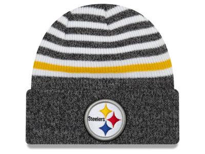 244227cdccb Pittsburgh Steelers New Era NFL Striped Cuff MB Knit