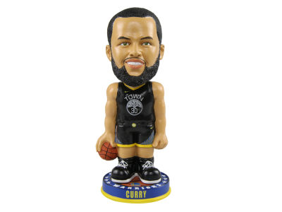 Golden State Warriors Stephen Curry Forever Collectibles Knucklehead Bobblehead