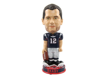 New England Patriots Tom Brady Forever Collectibles Knucklehead Bobblehead