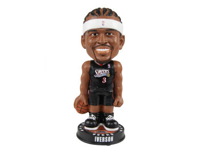 Philadelphia 76ers Allen Iverson Forever Collectibles Knucklehead Bobblehead