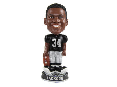 Oakland Raiders Bo Jackson Forever Collectibles Knucklehead Bobblehead