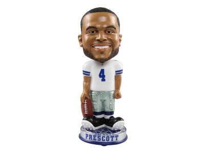 Dallas Cowboys Dak Prescott Forever Collectibles Knucklehead Bobblehead
