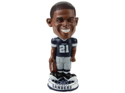 Dallas Cowboys Deion Sanders Forever Collectibles Knucklehead Bobblehead