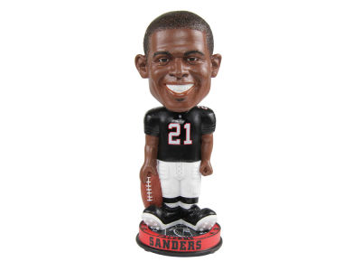Atlanta Falcons Deion Sanders Forever Collectibles Knucklehead Bobblehead