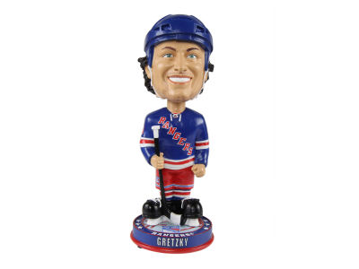 New York Rangers Wayne Gretzky Forever Collectibles Knucklehead Bobblehead