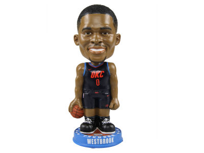 Oklahoma City Thunder Russell Westbrook Forever Collectibles Knucklehead Bobblehead