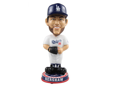 Los Angeles Dodgers Clayton Kershaw Forever Collectibles Knucklehead Bobblehead