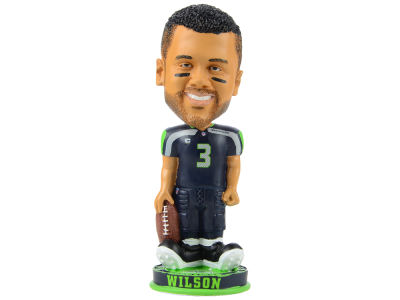 Seattle Seahawks Russell Wilson Forever Collectibles Knucklehead Bobblehead