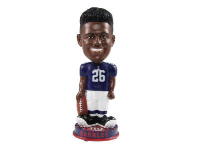 New York Giants Saquon Barkley Forever Collectibles Knucklehead Bobblehead