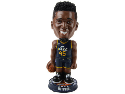 Utah Jazz Donovan Mitchell Forever Collectibles Knucklehead Bobblehead