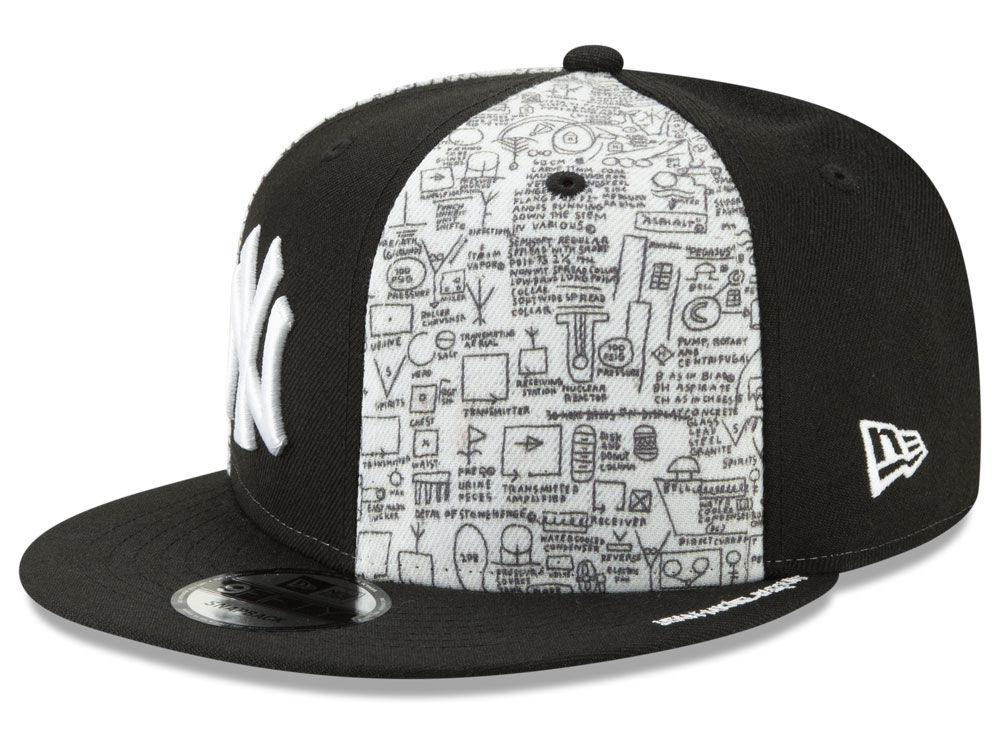 New York Yankees New Era MLB Jean-Michel Basquiat Collection 9FIFTY  Snapback Cap  8d0dd1df367