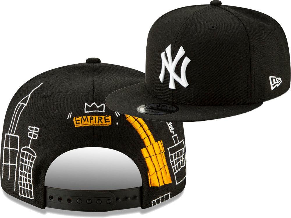 New York Yankees New Era MLB Jean-Michel Basquiat Collection 9FIFTY Snapback  Cap  3e5d33019c7