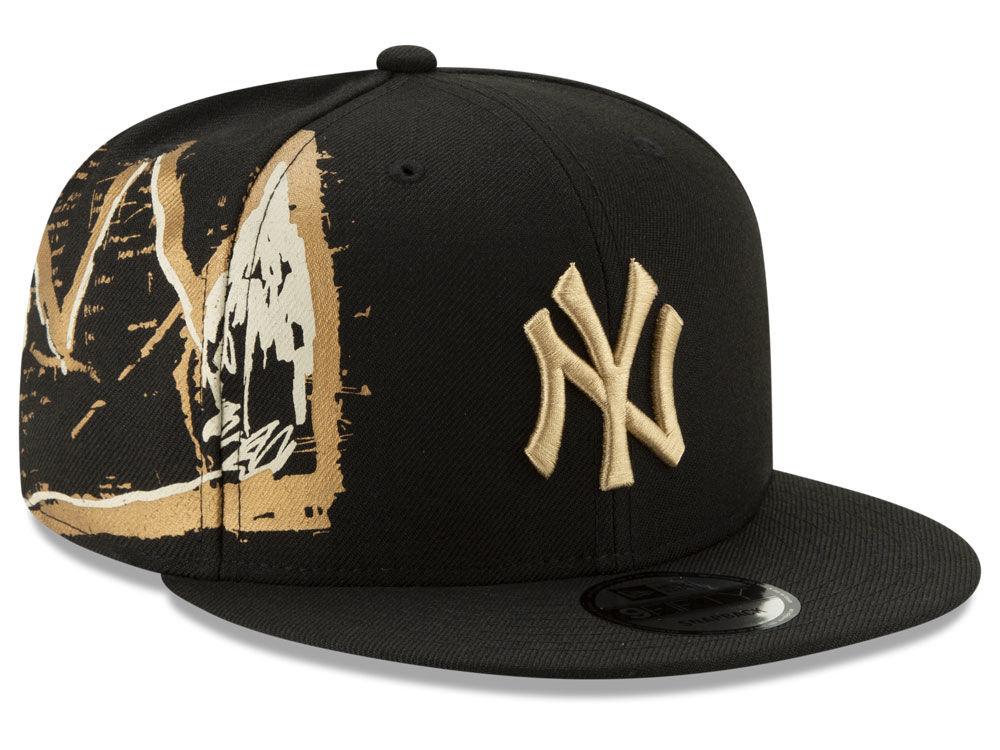 1661cbe77ac New York Yankees New Era MLB Jean-Michel Basquiat Collection 9FIFTY  Snapback Cap