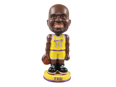 Los Angeles Lakers Shaquille O'Neal Forever Collectibles Knucklehead Bobblehead