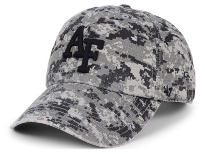 Air Force Falcons  47 NCAA Operation Hat Trick Camo Nilan  47 CLEAN UP Cap f46acb6f3