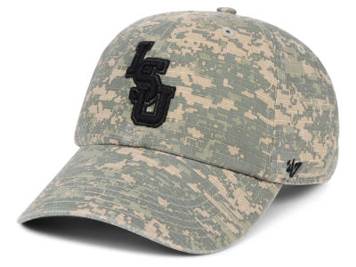 LSU Tigers '47 NCAA Operation Hat Trick Camo Nilan '47 CLEAN UP Cap