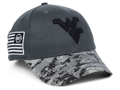 West Virginia Mountaineers '47 NCAA Pierce Adjustable Cap