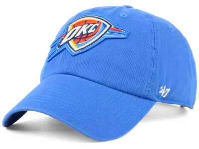 Oklahoma City Thunder '47 NBA Women's Glitta '47 CLEAN UP Cap