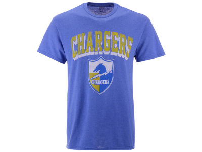 Los Angeles Chargers NFL Men's Shadow Arch Retro T-shirt