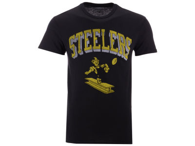 Pittsburgh Steelers NFL Men's Shadow Arch Retro T-shirt