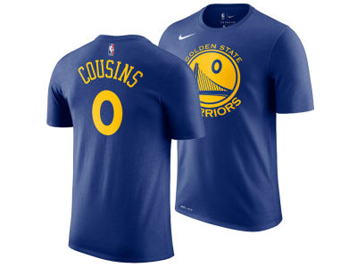Golden State Warriors DeMarcus Cousins Nike NBA Men's Icon Player T-shirt