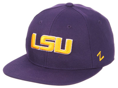 LSU Tigers Zephyr NCAA Fitted Cap