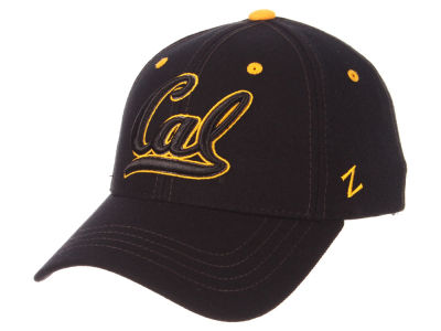 California Golden Bears Zephyr NCAA Black Element Stretch Cap