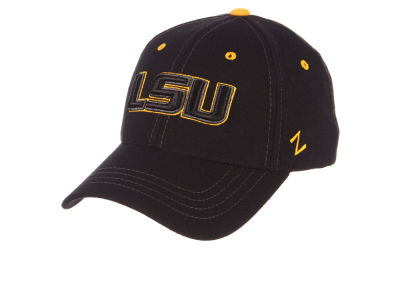 LSU Tigers Zephyr NCAA Black Element Stretch Cap