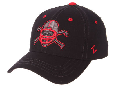 Nebraska Cornhuskers Zephyr NCAA Black Element Stretch Cap