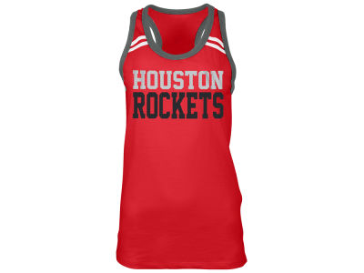Houston Rockets 5th & Ocean NBA Women's Racer Tank