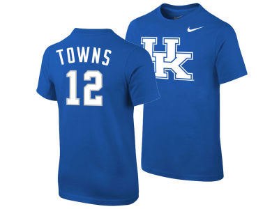 Kentucky Wildcats Karl-Anthony Towns Nike NCAA Youth Future Start Replica T-Shirt