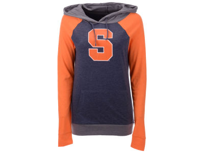Syracuse Orange 5th & Ocean NCAA Women's Big Logo Raglan Hooded Sweatshirt