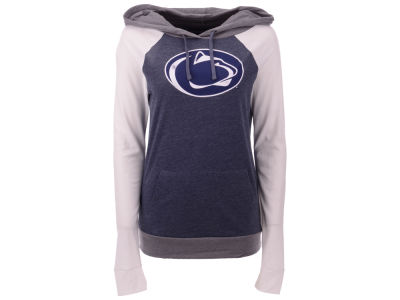 Penn State Nittany Lions 5th & Ocean NCAA Women's Big Logo Raglan Hooded Sweatshirt