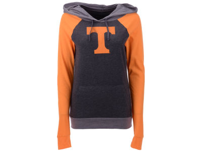 Tennessee Volunteers 5th & Ocean NCAA Women's Big Logo Raglan Hooded Sweatshirt