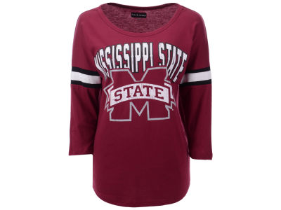 Mississippi State Bulldogs 5th & Ocean NCAA Women's Stripe Sleeve Tunic