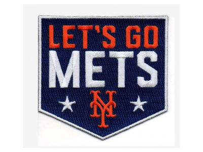 New York Mets MLB Fan Patch