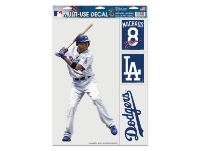 Los Angeles Dodgers Manny Machado Wincraft Ultra Decals