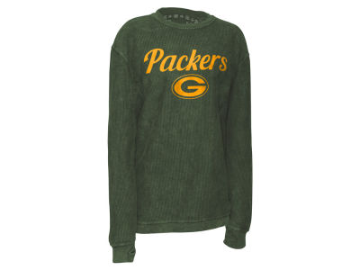 Green Bay Packers Pressbox NFL Women's Comfy Cord T-shirt