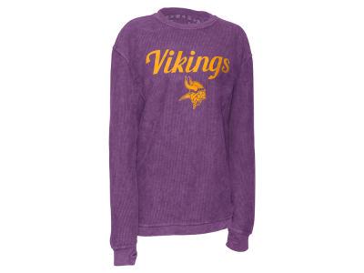 Minnesota Vikings Pressbox NFL Women's Comfy Cord T-shirt