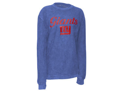 New York Giants Pressbox NFL Women's Comfy Cord T-shirt