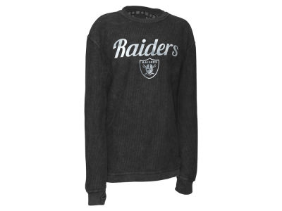 Oakland Raiders Pressbox NFL Women's Comfy Cord T-shirt