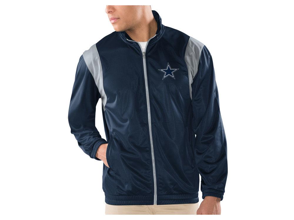 2fb72d4df Dallas Cowboys NFL Men s Clutch Time Track Jacket