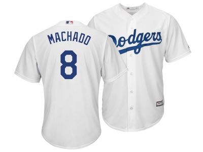 Los Angeles Dodgers Manny Machado Majestic MLB Men's Player Replica Cool Base Jersey